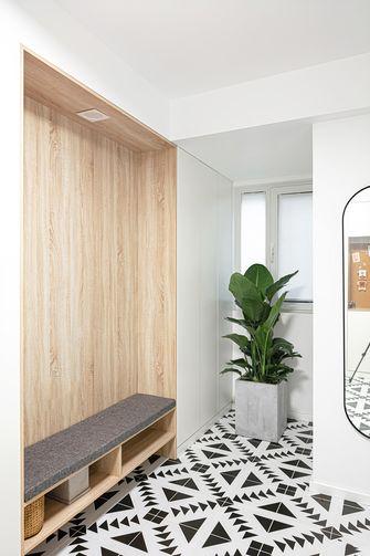 130平米三室两厅日式风格玄关效果图