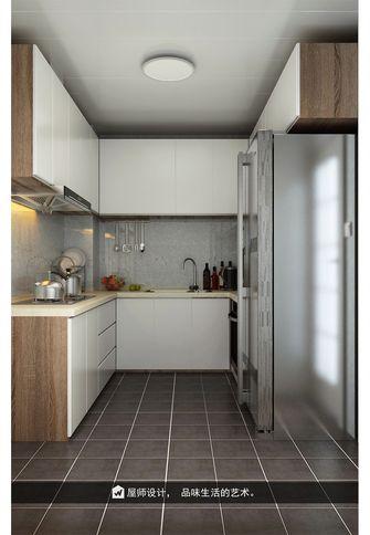 140平米三英伦风格厨房装修案例