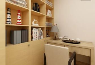 110平米三日式风格书房图片