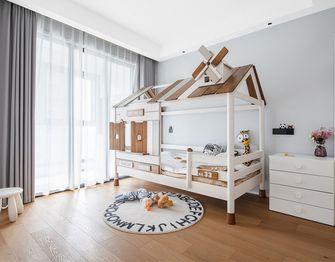 5-10万110平米三室两厅现代简约风格儿童房图