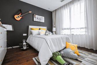 120平米四室一厅现代简约风格卧室设计图