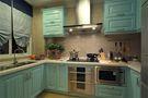 140平米三室两厅地中海风格厨房图
