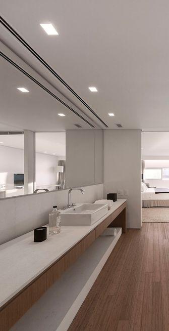 100平米三室两厅现代简约风格卫生间装修图片大全