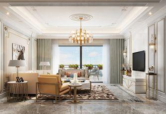 140平米四室一厅现代简约风格客厅图
