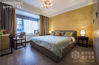 140平米三室两厅中式风格卧室壁纸图