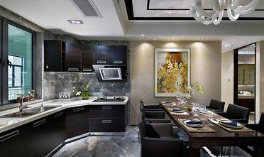 80平米公寓中式风格厨房装修效果图