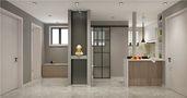 60平米一室一厅日式风格餐厅装修效果图