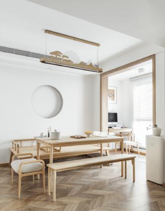 130平米三日式风格餐厅设计图