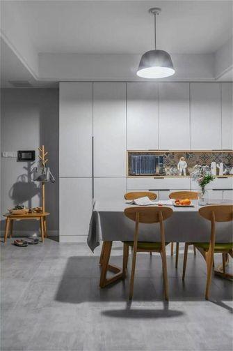 90平米北欧风格餐厅设计图