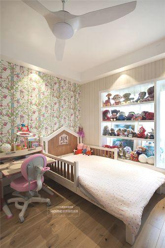 90平米现代简约风格儿童房效果图