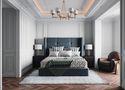 140平米四室一厅美式风格卧室装修图片大全