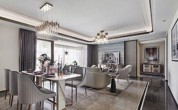90平米三室两厅欧式风格客厅装修案例