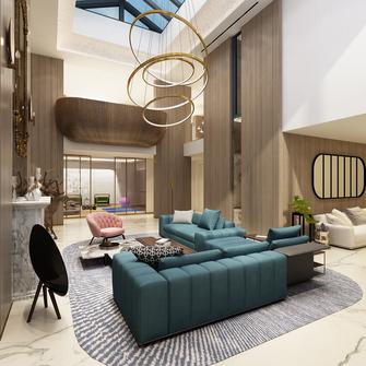 140平米别墅宜家风格客厅设计图