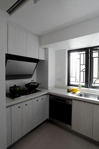 60平米一居室现代简约风格厨房图