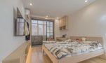 110平米三田园风格卧室装修案例