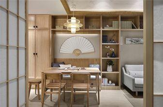 80平米日式风格餐厅设计图