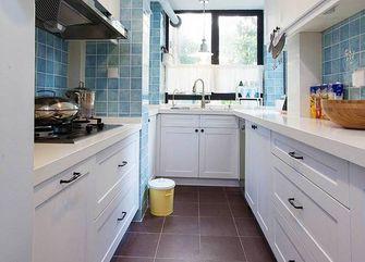 70平米一居室美式风格厨房图片大全