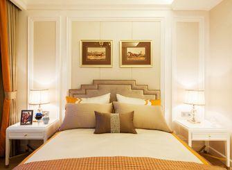 120平米三室一厅新古典风格卧室图片大全