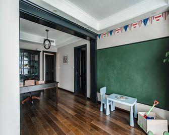 140平米四室三厅美式风格书房图片大全