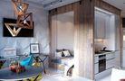 30平米超小户型混搭风格卧室图