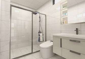 60平米公寓北欧风格卫生间设计图