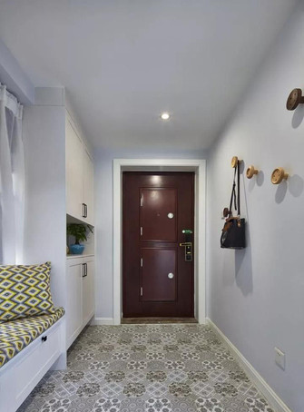80平米三室一厅北欧风格玄关装修效果图