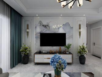 120平米三室两厅法式风格客厅装修案例
