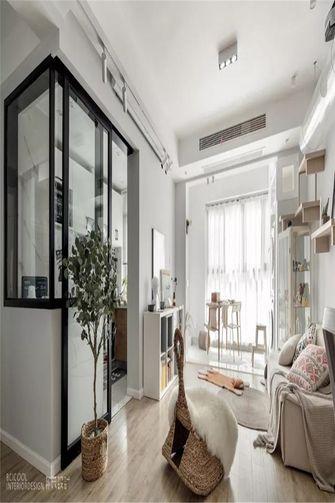 60平米日式风格客厅装修案例