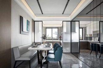 140平米复式中式风格餐厅图