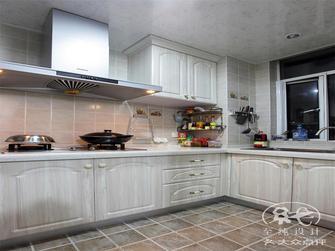 140平米三室一厅欧式风格厨房图片大全