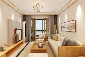 100平米三室三厅美式风格客厅图片