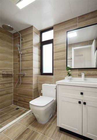 110平米三室两厅日式风格卫生间图片大全