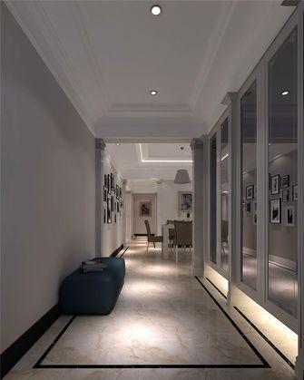 100平米一室一厅中式风格玄关图片