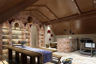 140平米三室三厅美式风格其他区域装修案例