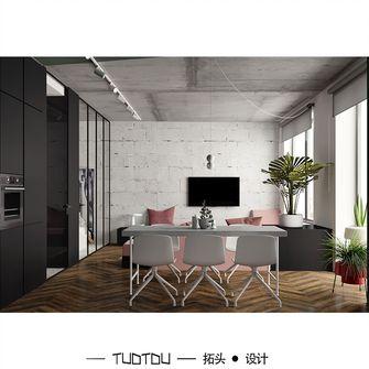 富裕型50平米小户型现代简约风格客厅图片