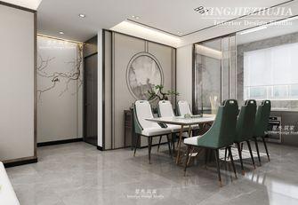 130平米三室两厅中式风格餐厅图片