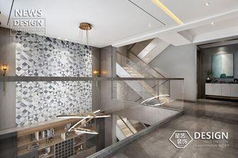 140平米别墅混搭风格楼梯间效果图