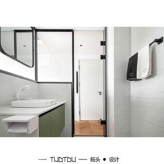 豪华型90平米三室一厅现代简约风格卫生间欣赏图