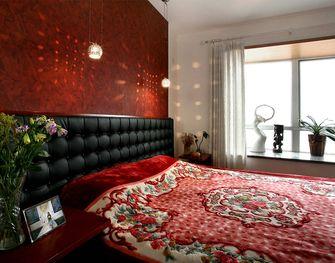 经济型80平米公寓东南亚风格卧室设计图