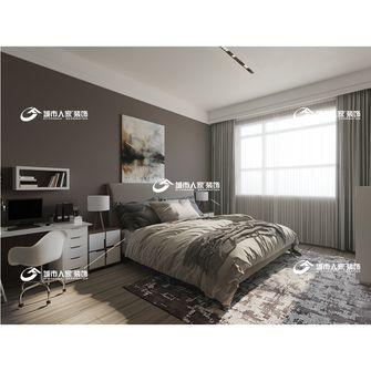 140平米三英伦风格卧室效果图