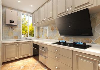 120平米地中海风格厨房图片大全