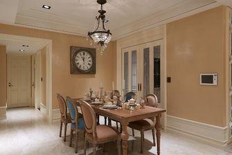 140平米四室两厅欧式风格餐厅效果图