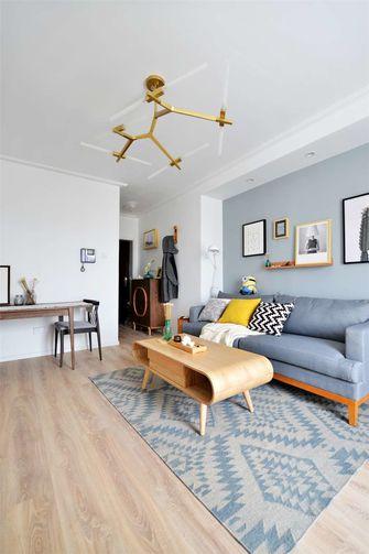 50平米公寓北欧风格客厅欣赏图