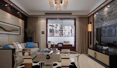 90平米复式混搭风格客厅欣赏图