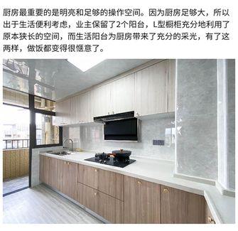 10-15万120平米三现代简约风格厨房图片