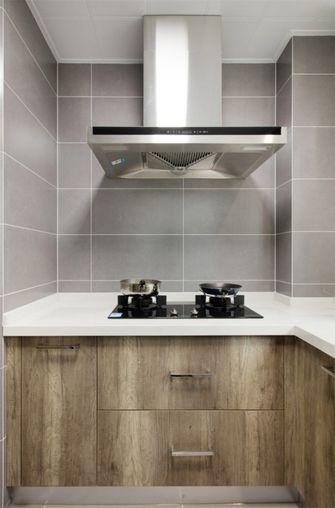 100平米三室两厅现代简约风格厨房设计图