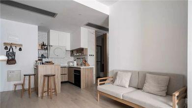 60平米一室一厅日式风格客厅效果图