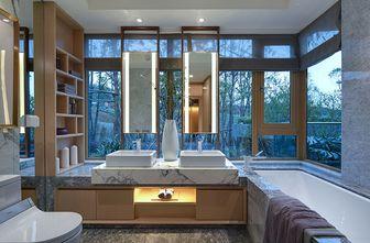 140平米四室两厅英伦风格卫生间设计图