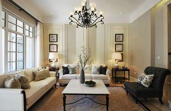 80平米新古典风格客厅图片大全