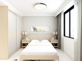 110平米田园风格卧室图片大全